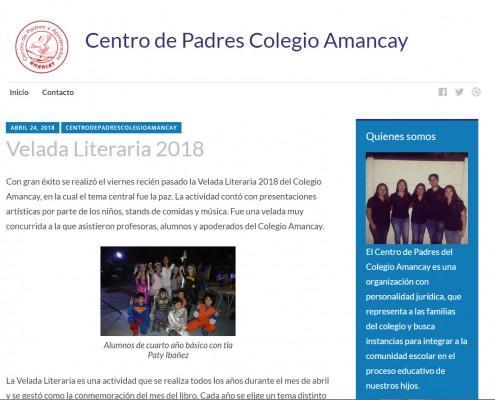 Centro de Padres - Velada LiterariaJPG